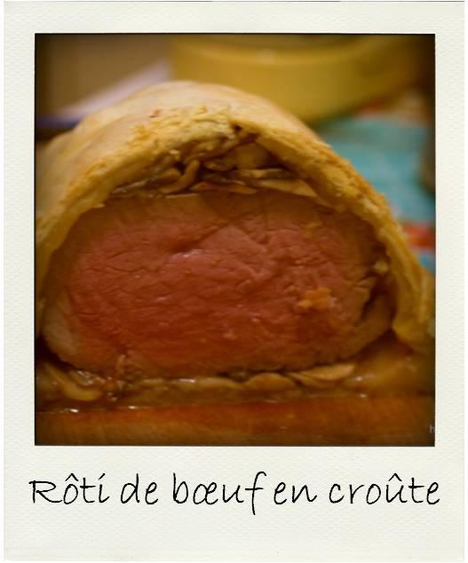 Roti de boeuf en croute