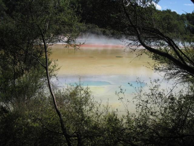 La Palette du Peintre à Waiotapu