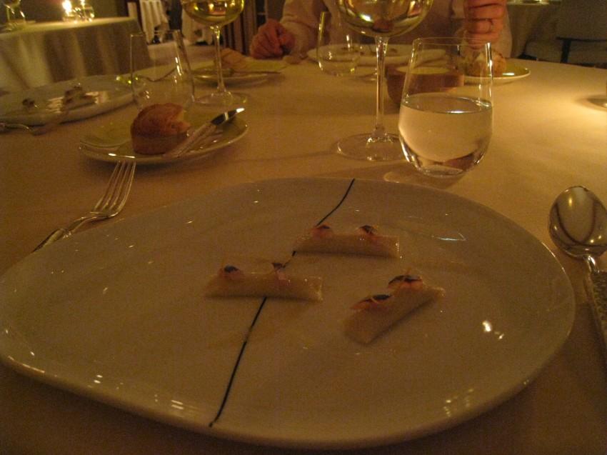 Gnocchinis d'artichaut à la sardine fumée