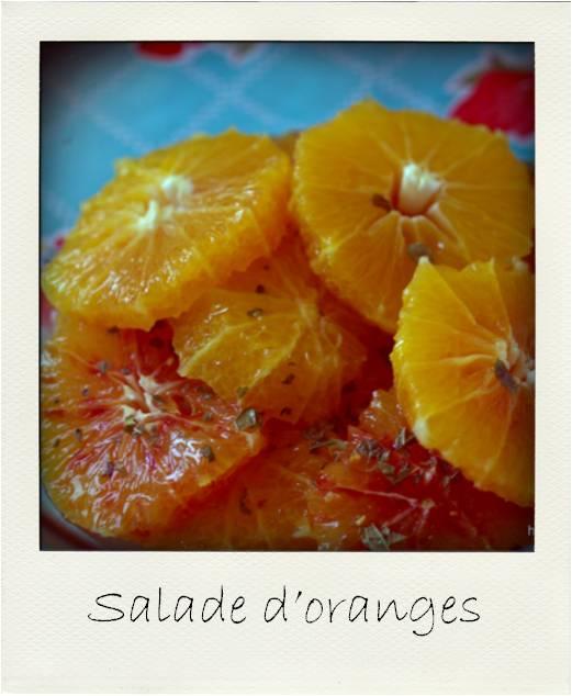 Salade d oranges