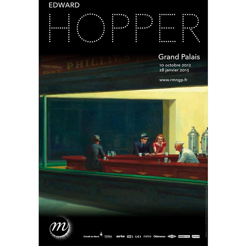 Hopper affiche