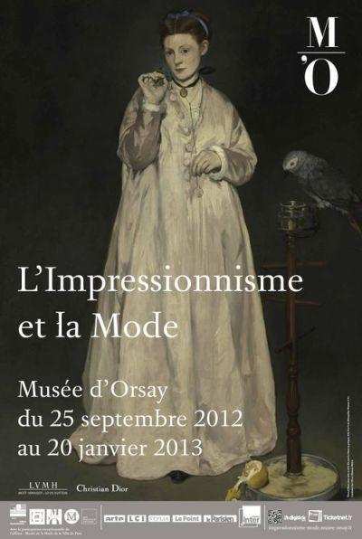 Impressionnisme et la mode affiche