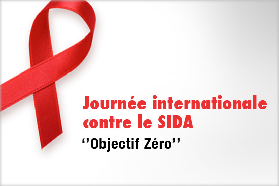 Journee mondiale contre le sida