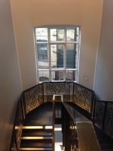 Le très bel escalier chez Royal Copenhagen