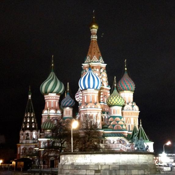 La cathédrale Saint Basil