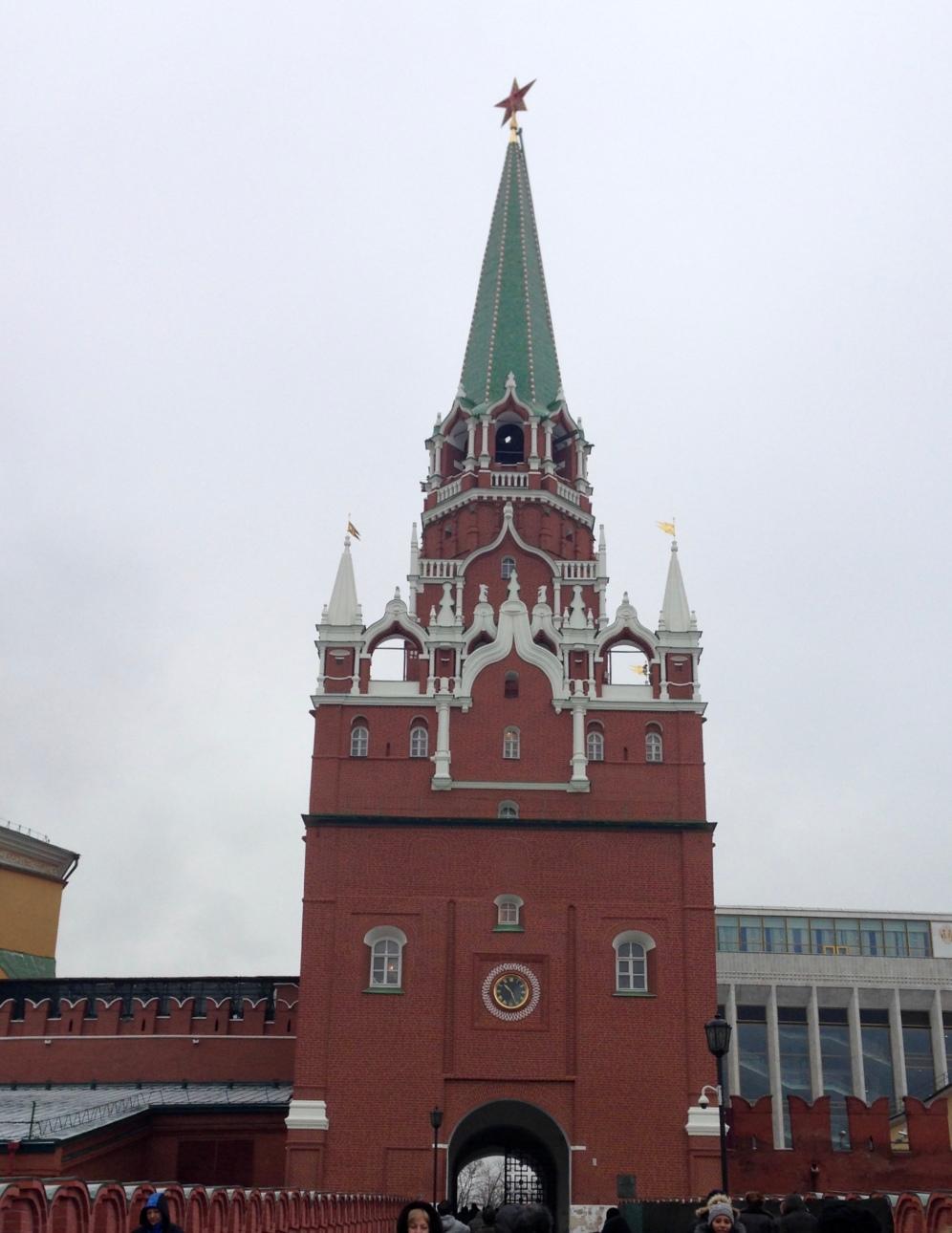 L'entrée du Kremlin