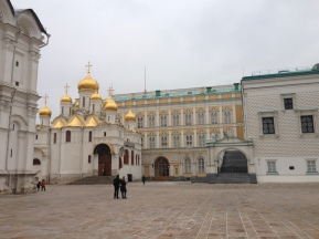 La cathédrale d'Annonciation au Kremlin