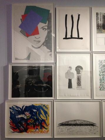 Le mur d'hommages à Picasso