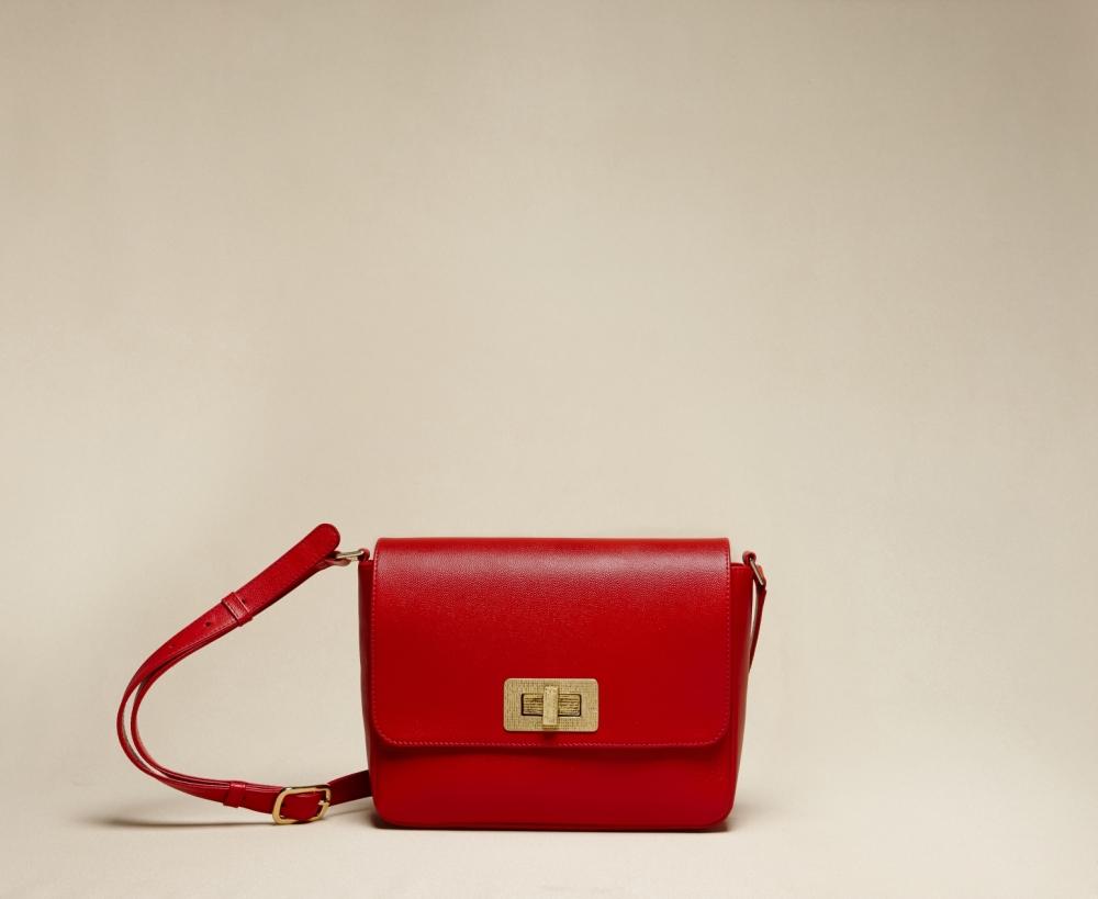"""Gertrude"", taille maxi, en rouge"
