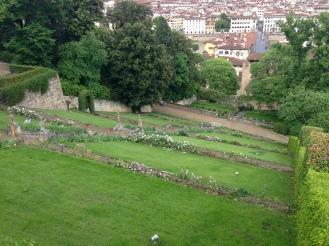 Le jardin de la villa Bardini
