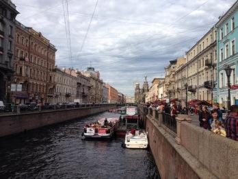 La rivière Fontanka
